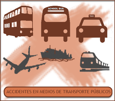 Accidentes en Transportes Públicos